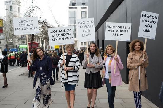 jd-williams-protest-march-lfw-walking
